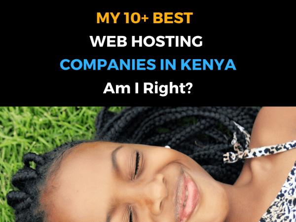 10 Best Web Hosting in Kenya | My Top 10