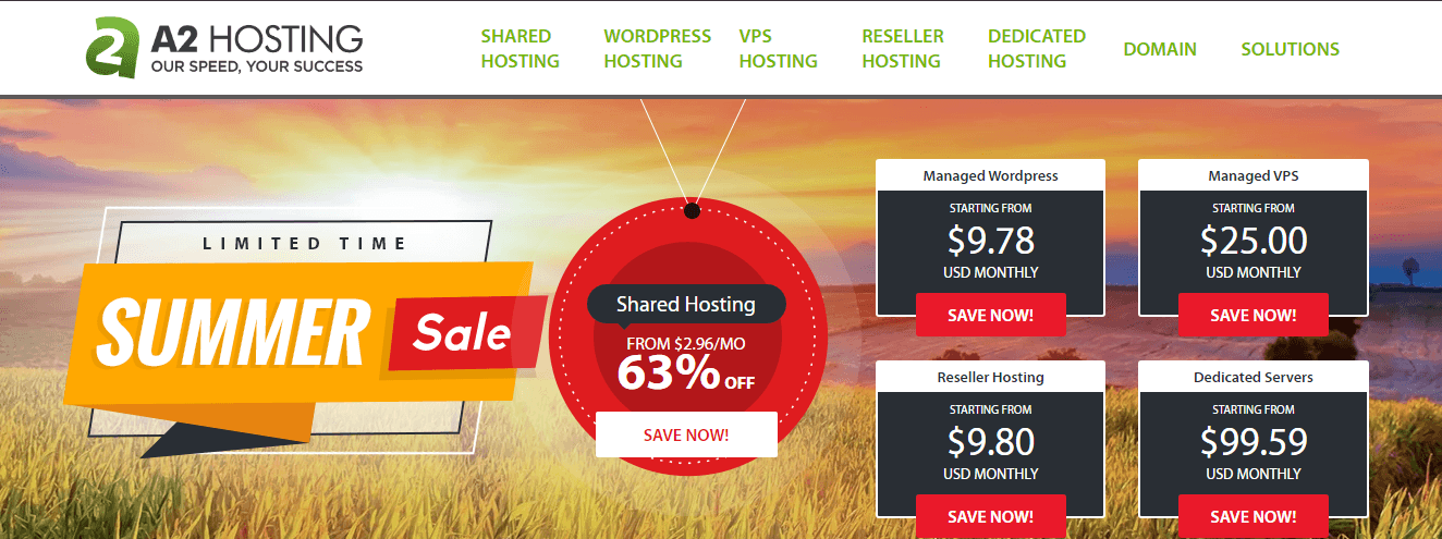 a2hosting - cheap monthly hosting