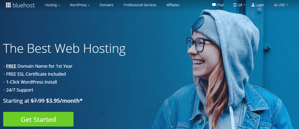 bluehost hosting in singapore