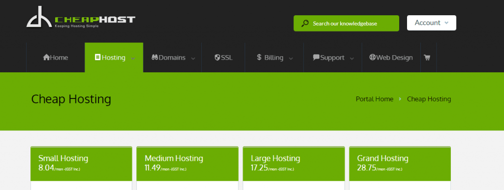 cheahost cheapest web hosting in newzealand