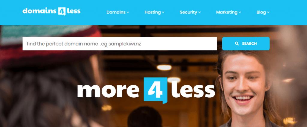 domain4less newzealand best hosting provider