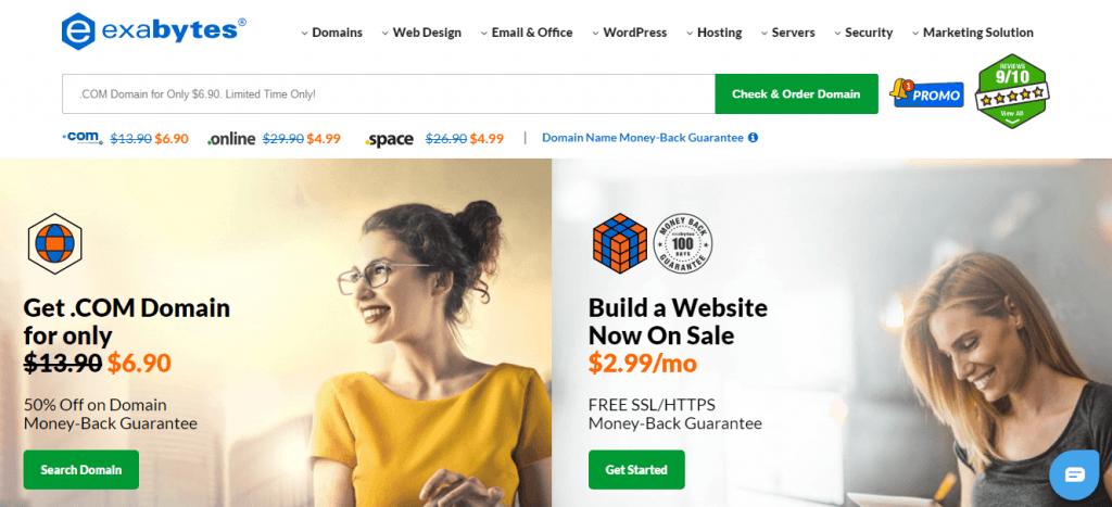 exabytes Singapore web hosting provider