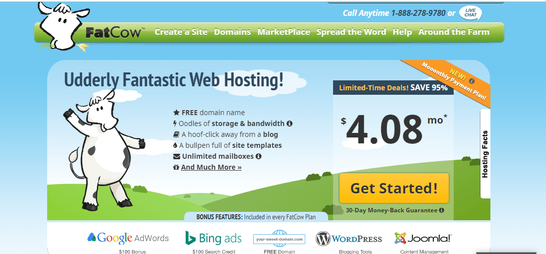 fatcow cheap web hosting provider