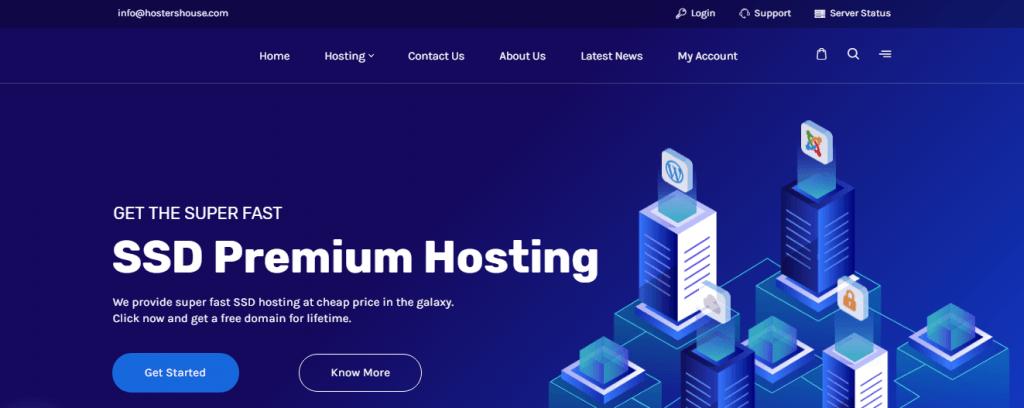hostershouse Cloud hosting dubai