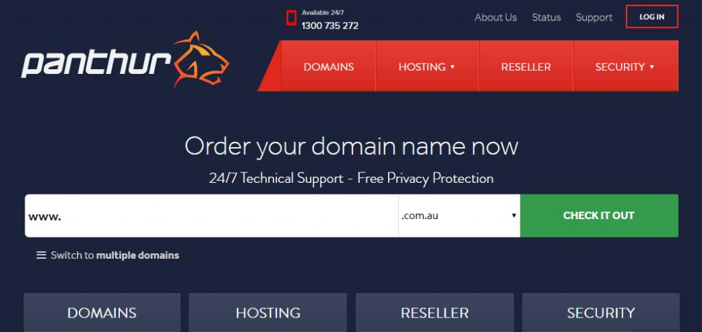 panthur web hosting in Newzealand