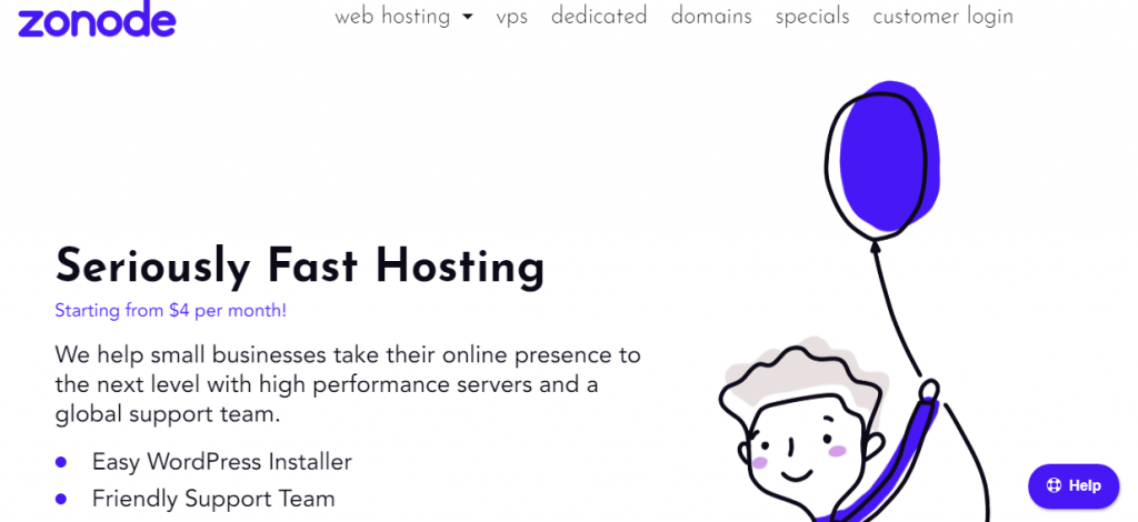zonode web hosting provider in singapore