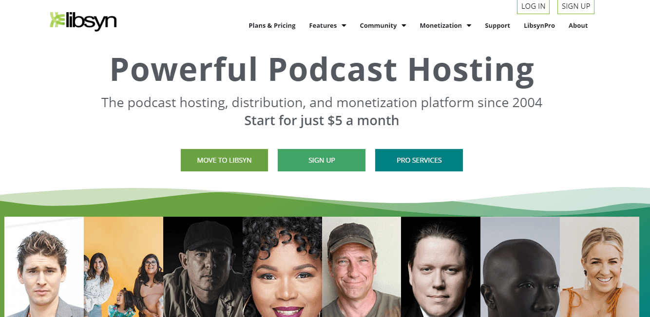 LIBSYN PODCAST HOSTING SITE