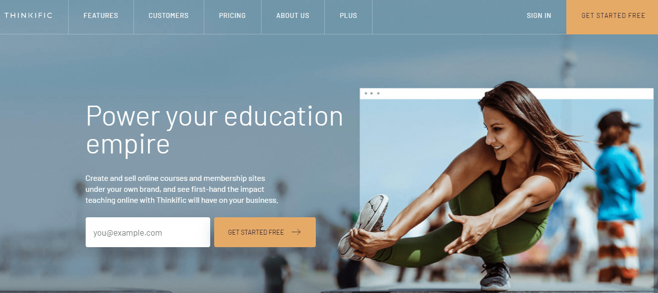 Thinkific online learning platform high paying affiliate program