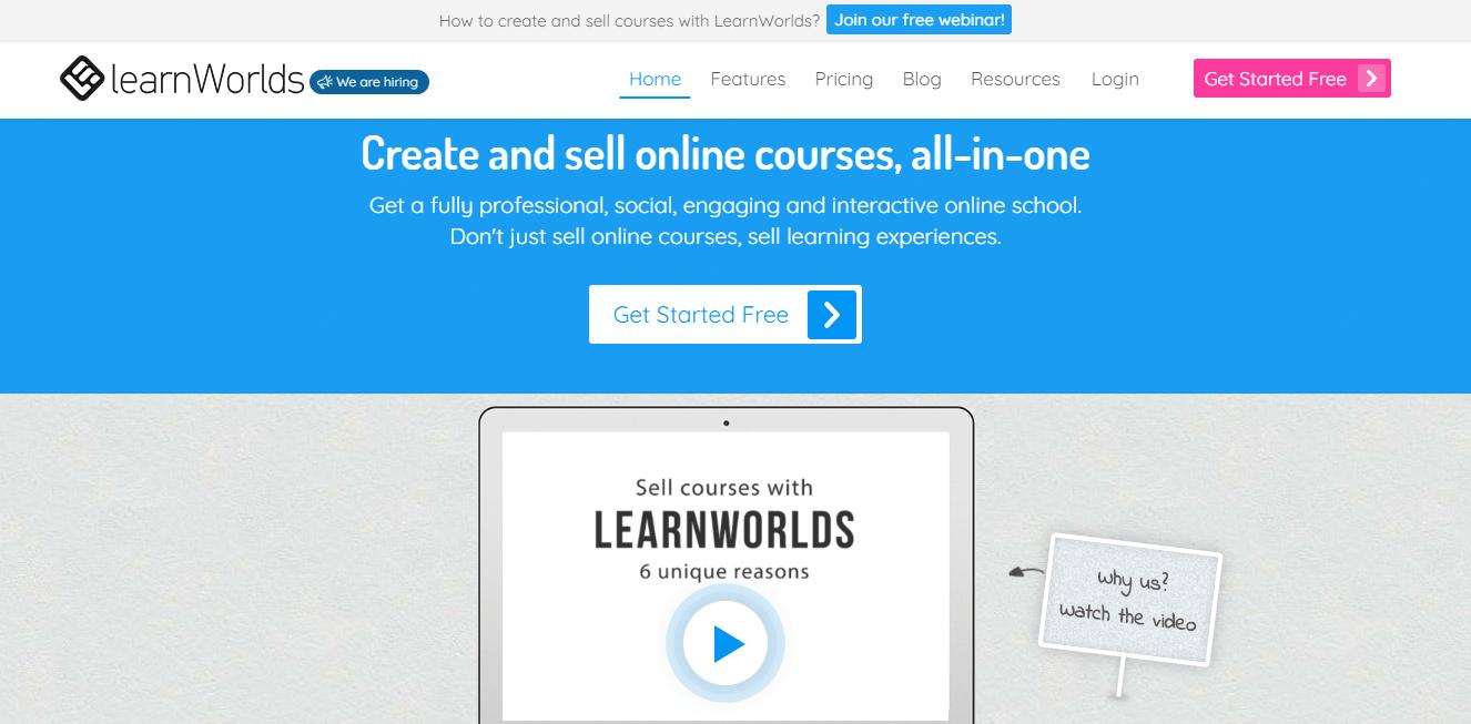 learnworld elearning platform