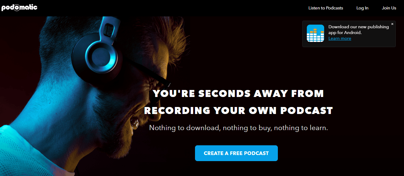 podomatic best podcasting site