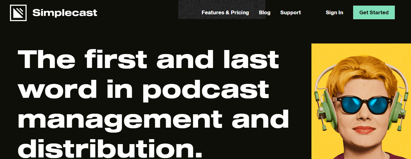 simplecast podcast website