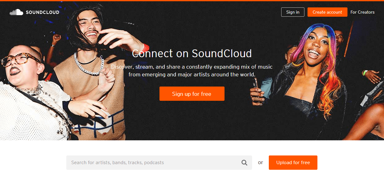 soundcloud podcast website
