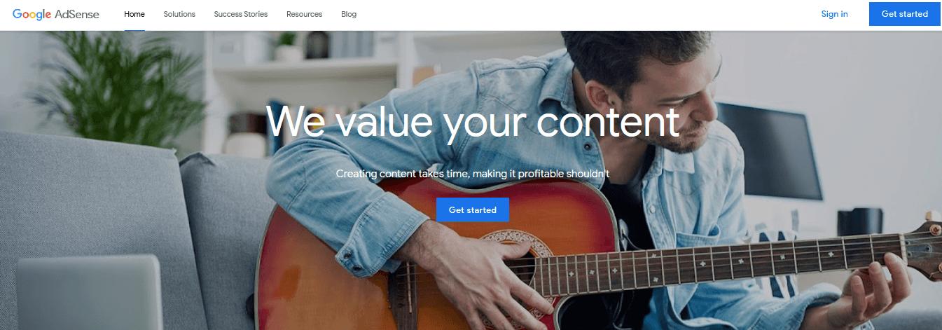 easy ways to make money Google Adsense