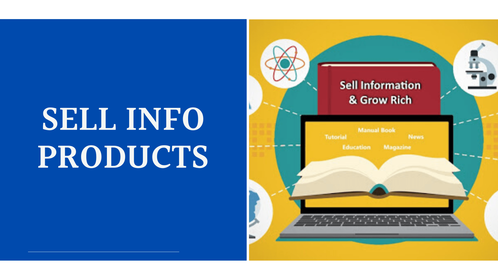 MAKE MONEY ON SOCIAL MEDIA SELLING INFORMATION PRODUCTS