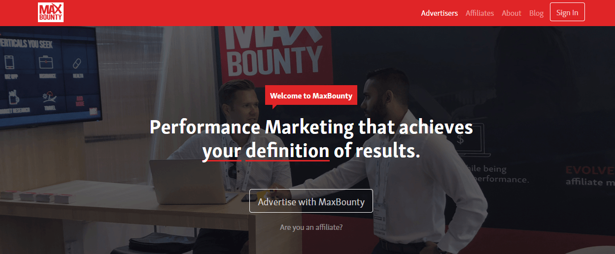 maxbounty offers